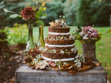 Aiden and Marina's wedding cake